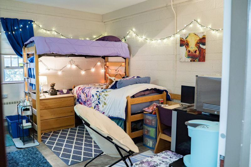 Hillcrest dorm room