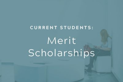 Current Students: Merit Scholarships